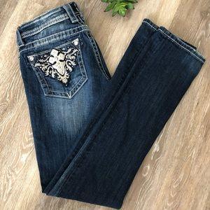 Miss Me Straight Leg Jeans 28x32